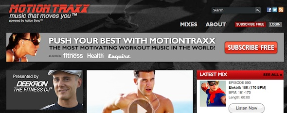 motiontraxx-startup featured on startuplift for startup feedback and website feedback