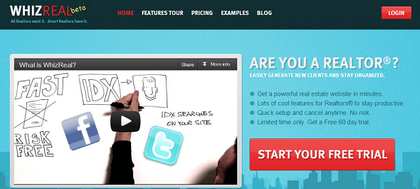 whizreal startup featured on startuplift for startup feedback and website feedback