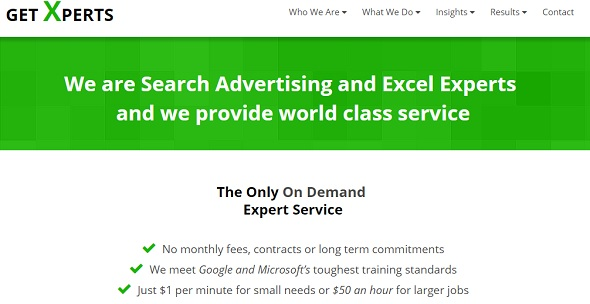 Get Xperts - startup featured on StartUpLift for startup feedback and website feedback