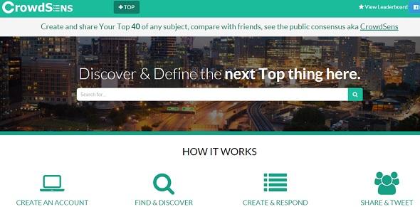 CrowdSens - startup featured on StartUpLift