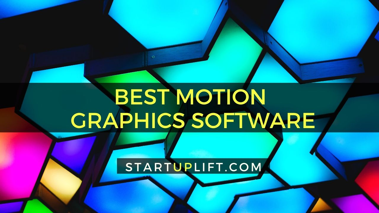 Best Motion Graphics Software