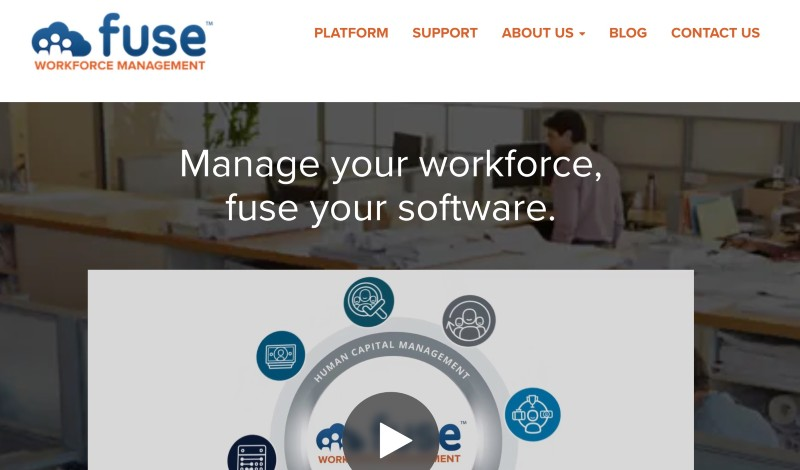 Fuse WorkForce Management  - Best Online Payroll Provider for Small Business