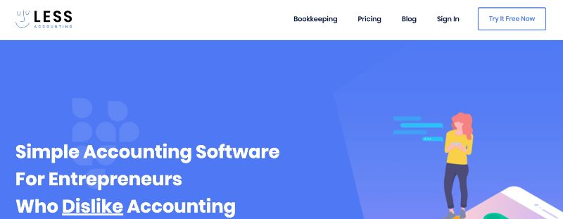 Less Accounting  - One Of The Best Accounting Software for Startups (& Small Businesses)