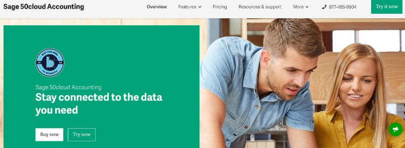 Sage 50 Cloud  - The Best Accounting Software for Startups (& Small Businesses)