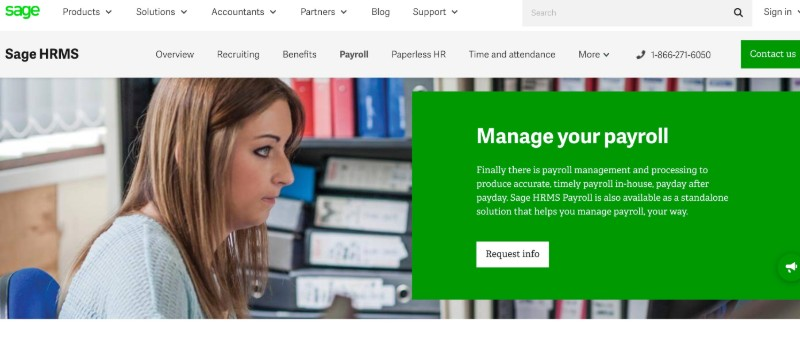 Sage  - Best Online Payroll Provider for Small Business