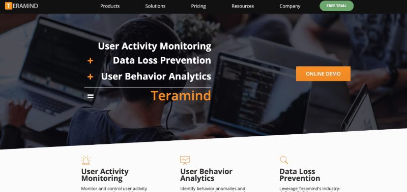 Teramind  - One Of The Best Remote Employee Monitoring Software