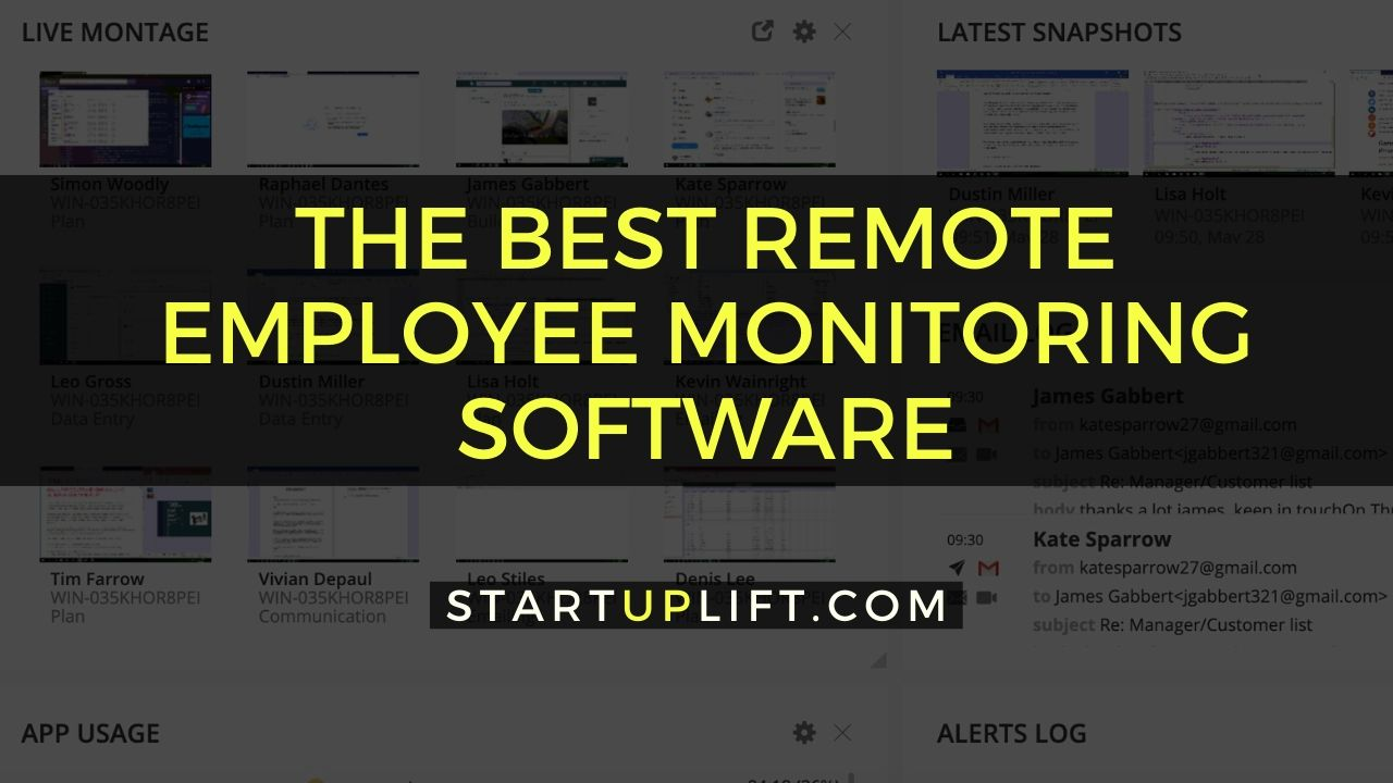 The Best Remote Employee Monitoring Software