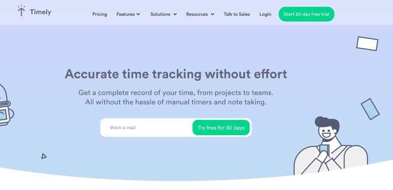 Timely - One Of The Best Remote Employee Monitoring Software