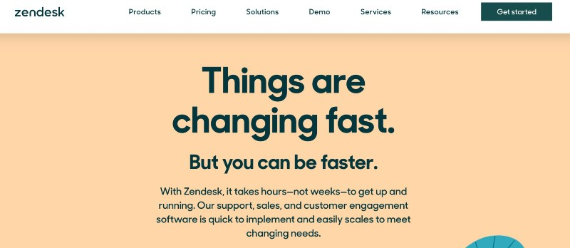 zendesk -Best Live Chat Software for Small Business