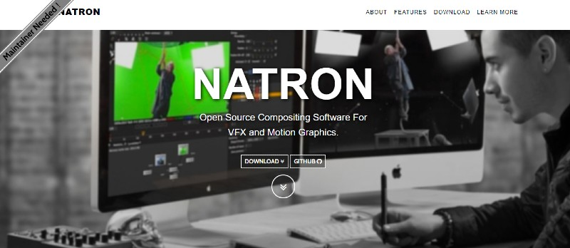 NATRON - Best Motion Graphics Software