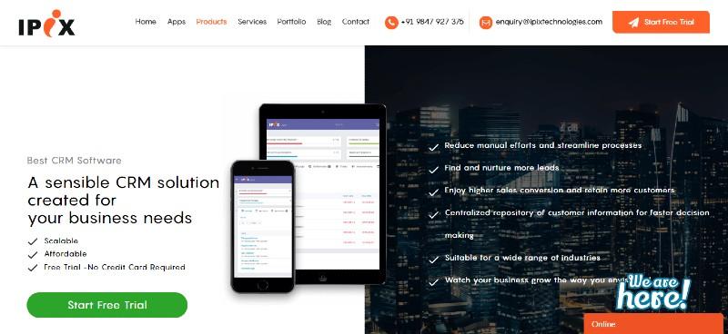 IPIX - Best CRM Software