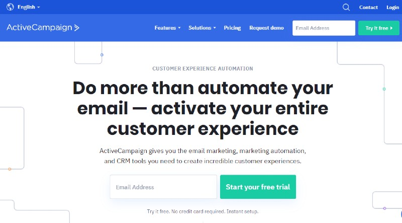 ActiveCampaign - Best Sales Funnel Software