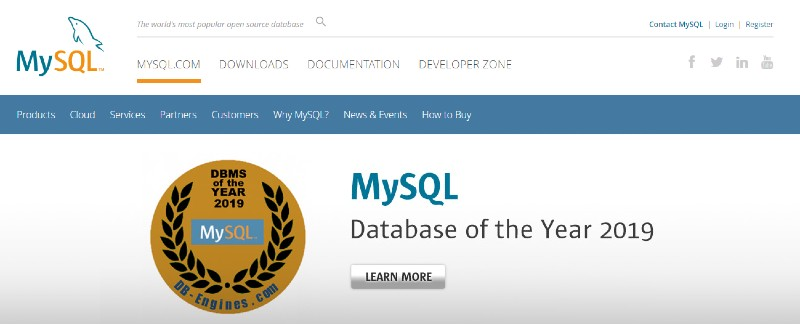 MySQL -Best Database Software