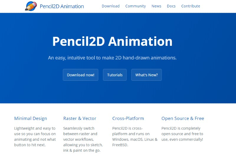 Pencil 2D - Best Animation Software for Beginners