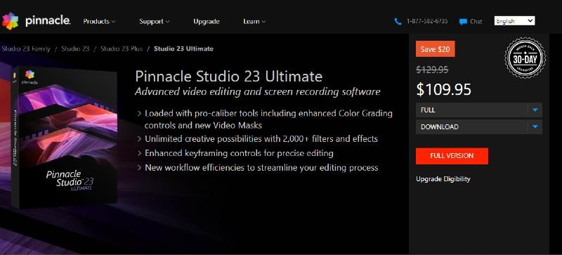 Pinnacle Studio Ultimate - Best Video Editing Software