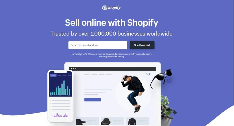 Shopify - Best E-Commerce Website Builders