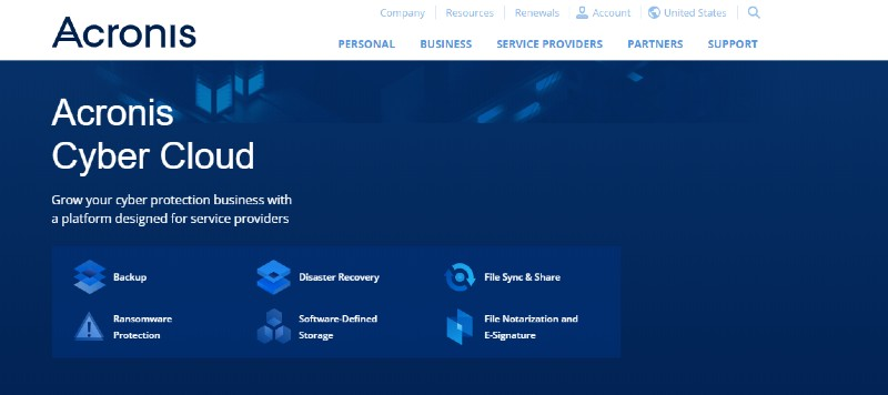 Acronis - Best Cloud Storage and Online Back-up Systems