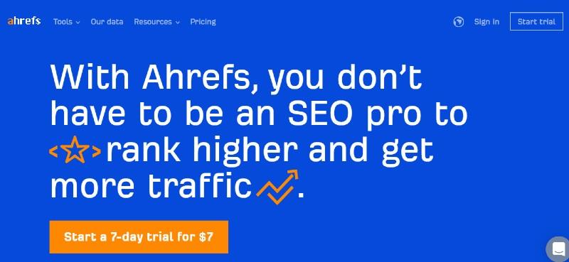 Ahrefs - Best SEO Tools