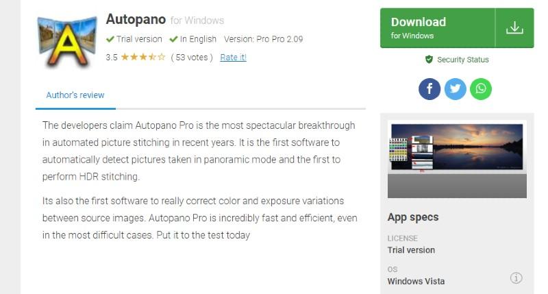Autopano Pro - Best Photo Stitching Software