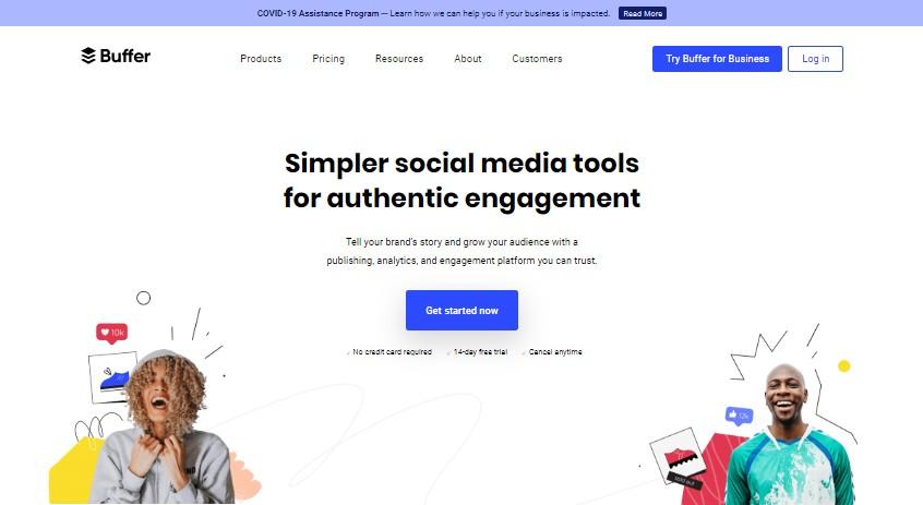 Buffer - Best Social Media Marketing Tools