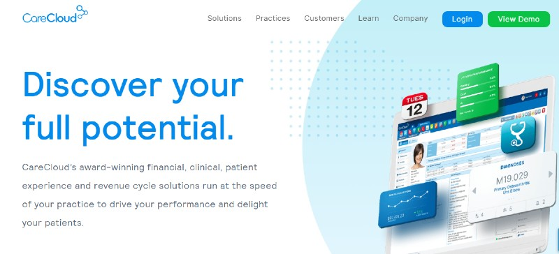 CareCloud - Best Medical and Healthcare Practice Management Software