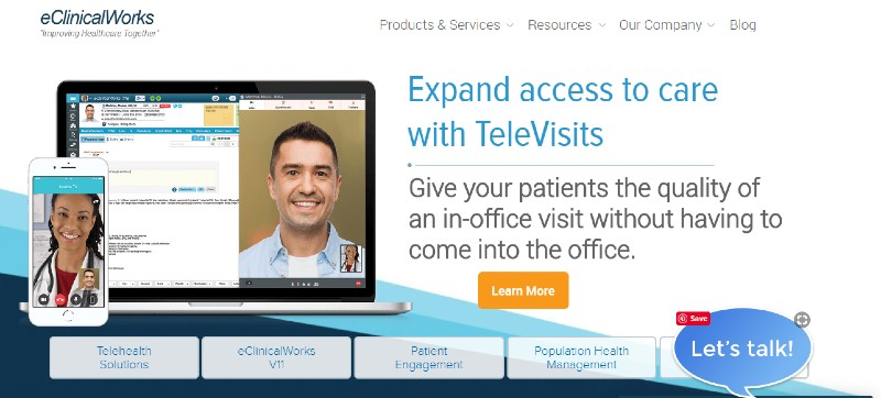 eClinicalWorks - Best Medical and Healthcare Practice Management Software