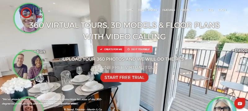 EyeSpy - Best Virtual Tour Software