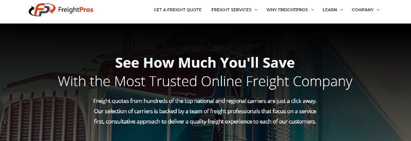 FreightPros - Best Fulfillment Services