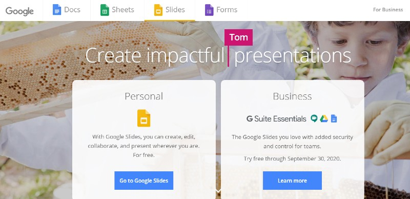 Google Slides - Best Presentation Software Programs
