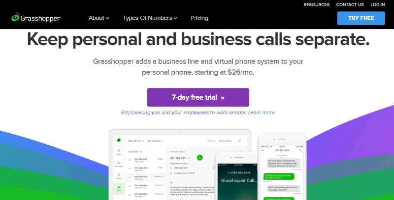 Grasshopper - Best VoIP Phone Services