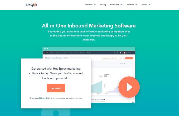 Hubspot - Best Landing Page Builders