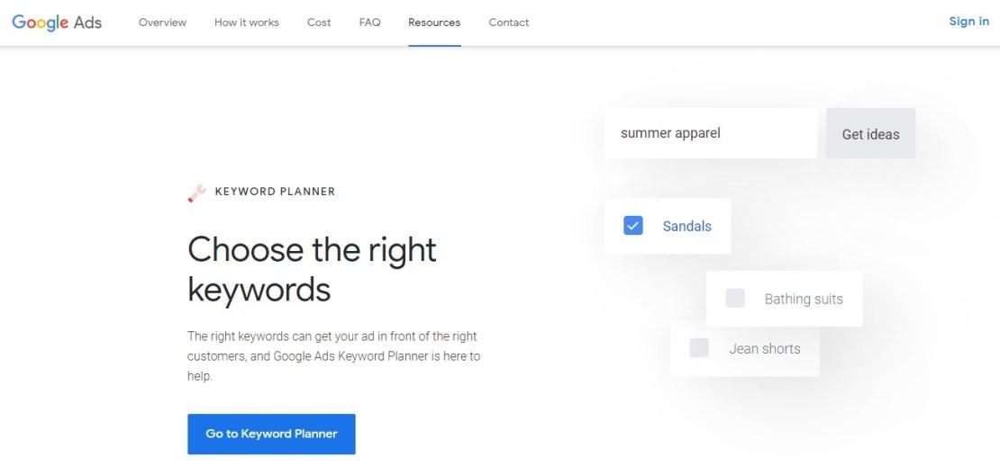 Keyword Planner - Best SEO Tools
