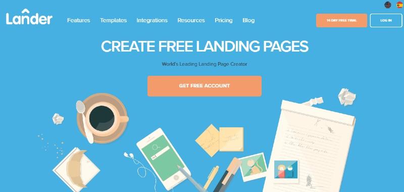 Lander - Best Landing Page Builders