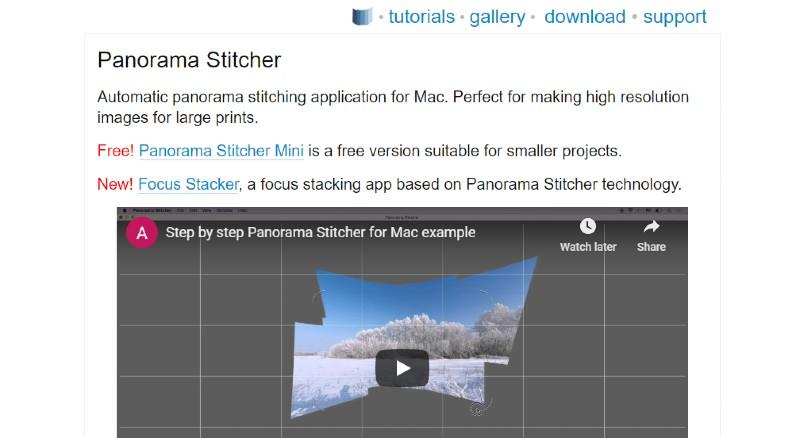 PanoramaPlus  - Best Photo Stitching Software