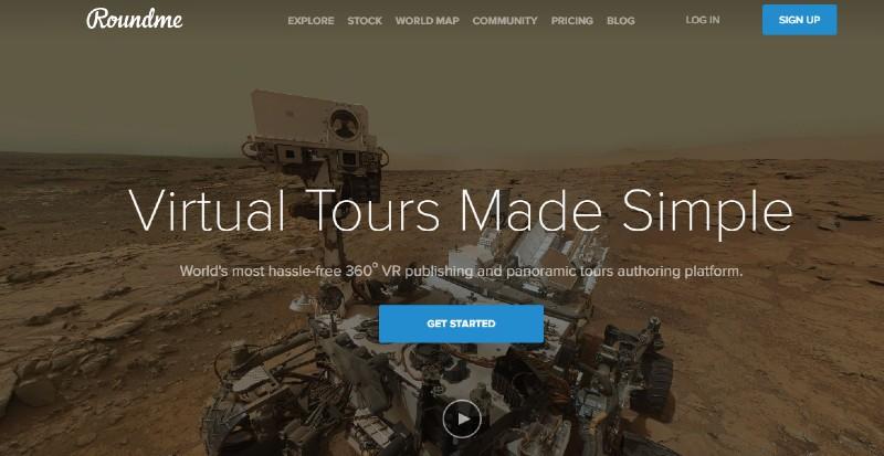 Roundme - Best Virtual Tour Software