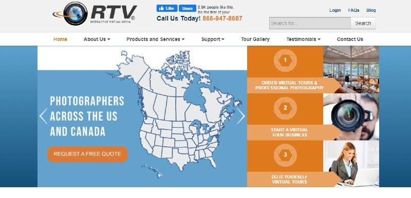 RTV - Best Virtual Tour Software