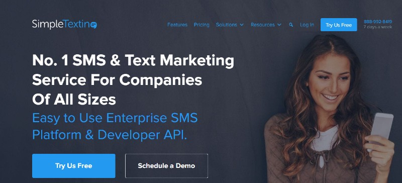 SimpleTexting - Best Text Message Marketing Software