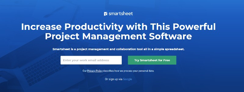 Smartsheet - Best Employee Management Software