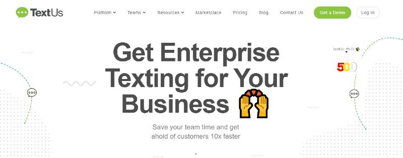 TextUs - Best Text Message Marketing Software
