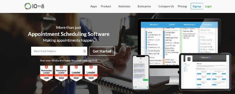 10to8 - Best Scheduling Software