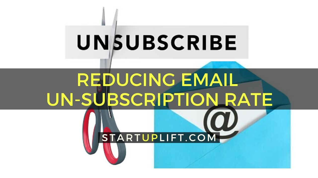 Reducing Email Unsubscription Rate