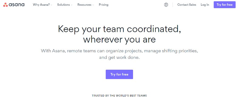 Asana - Best Team Collaboration Software