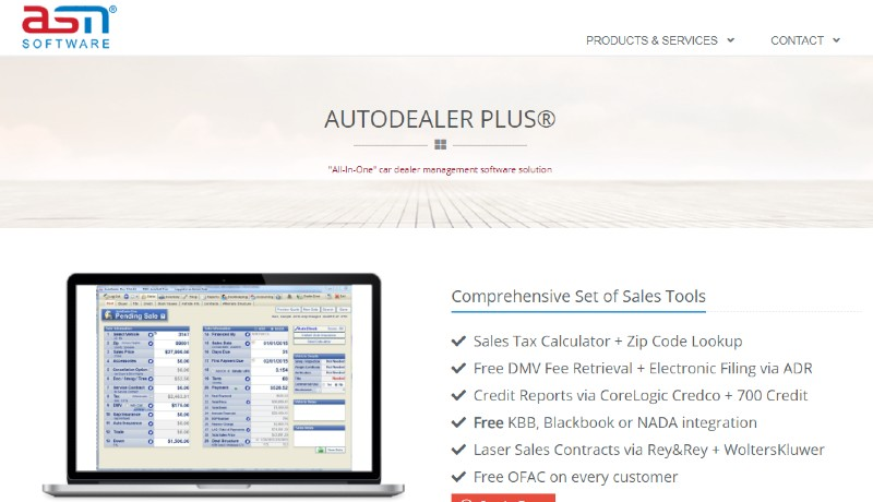 AutoDealer Plus - Best Automobile Dealer Software