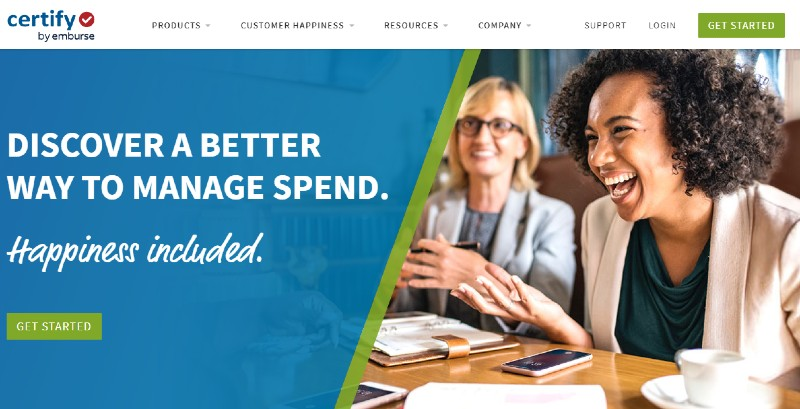 Certify - Best Expense Tracking Services
