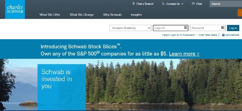 Charles Schwab - Best Small Business 401k Plans