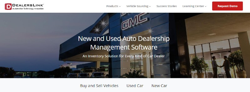 DealerLink - Best Automobile Dealer Software