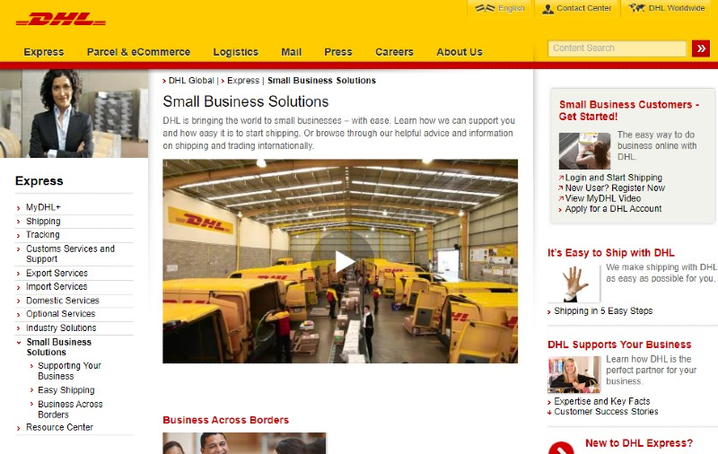 DHL - Best Shipping Services
