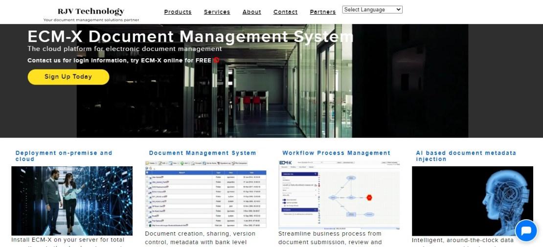 ECM-X - Best Document Management Software