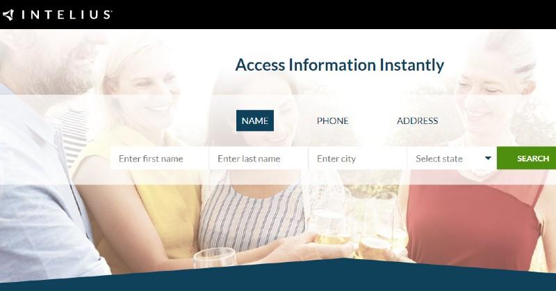 Intelius - Best Background Check Companies