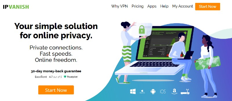 IPVanish - Best VPN Service Providers